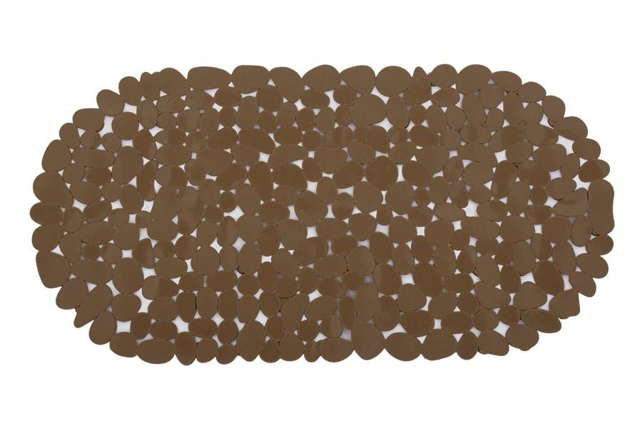 PIETRA csúszásmentes fürdőszobai alátét barna