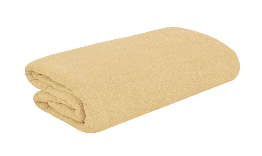TOP Q frottír lepedő magasított matracra BÉZS 2 90x200 cm