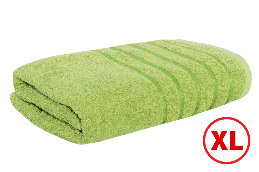 Maxi fürdőlepedő STRIPA zöld