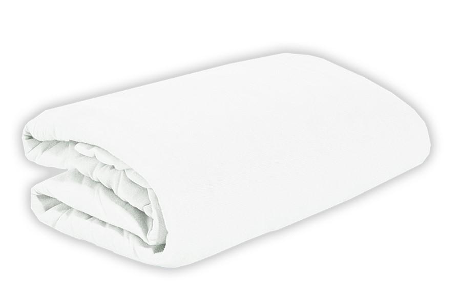 TOP Q jersey lepedő magasított matracra FEHÉR 180x200 cm