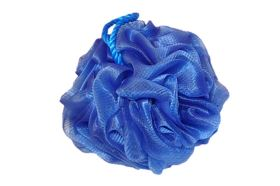 Masszázs fürdőpamacs  DELUXE kék