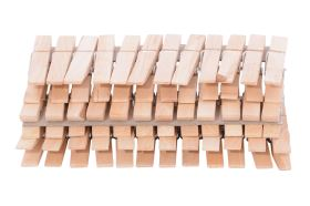 Fából készült ruhacsipeszek 36db