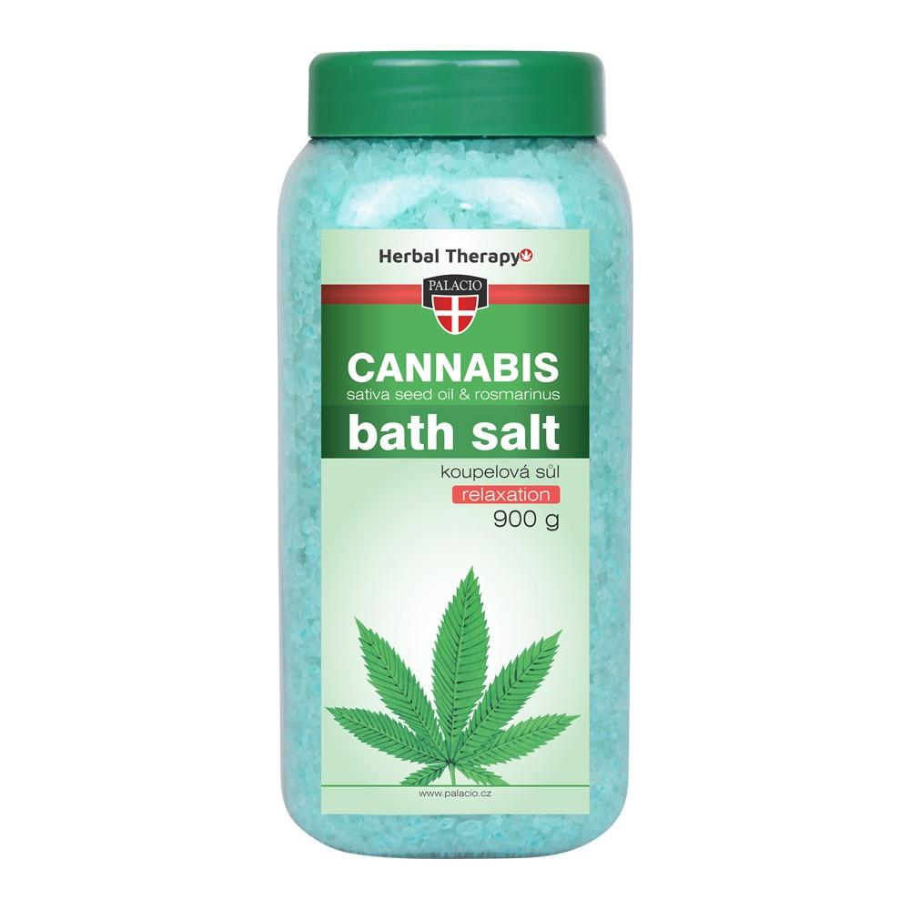 Cannabis Rosmarinus fürdősó 900g