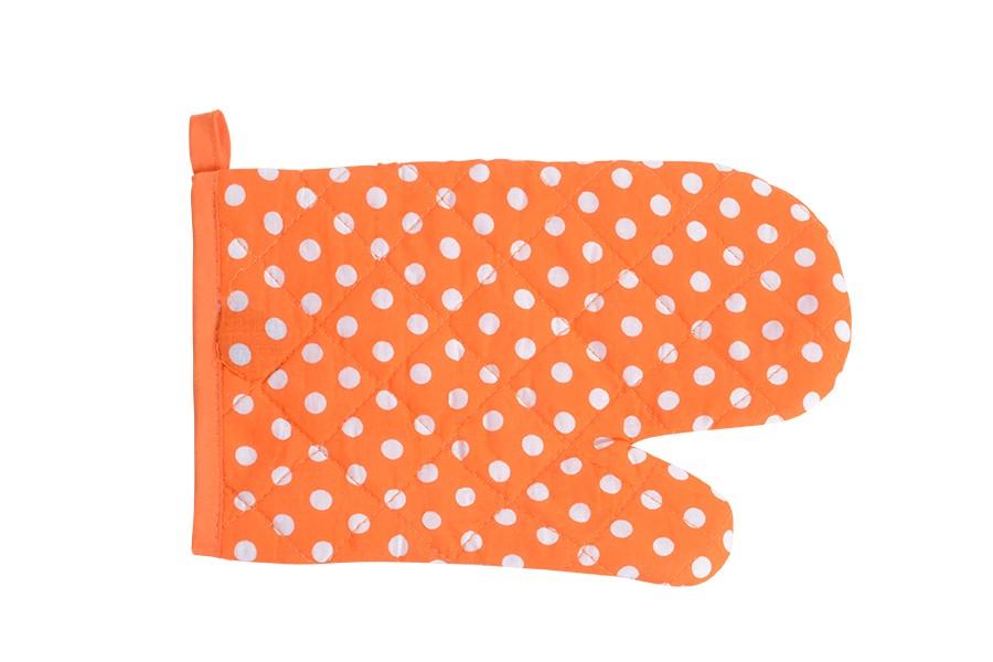 Konyhai edényfogó PÖTTY narancssárga