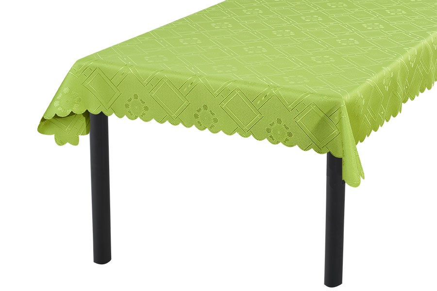 Zsakard terítő KUBE zöld 90x90 cm