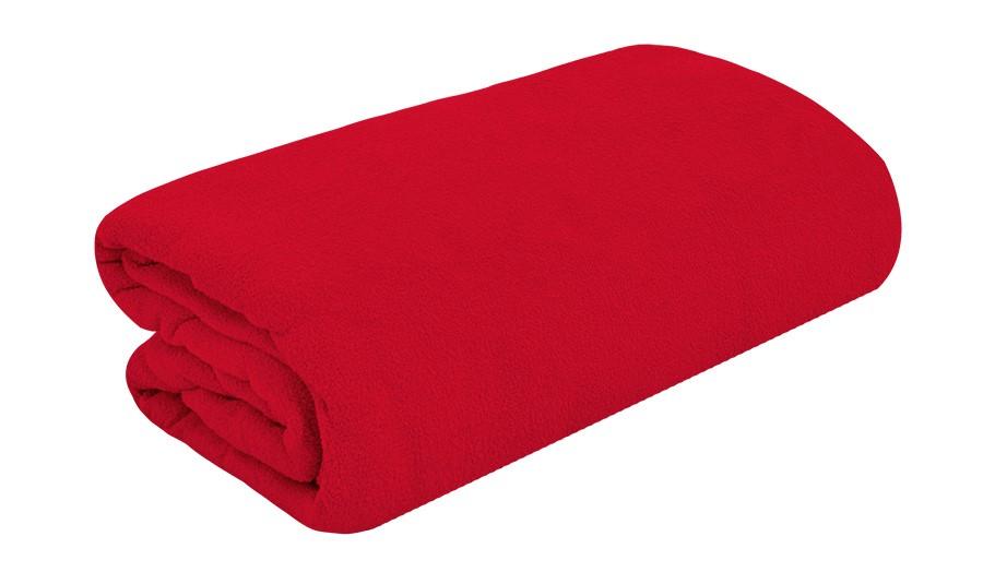 TOP Q frottír lepedő magasított matracra PIROS 180x200 cm