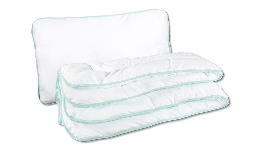 TALIN EXCLUSIVE zöld takaró és párna szett