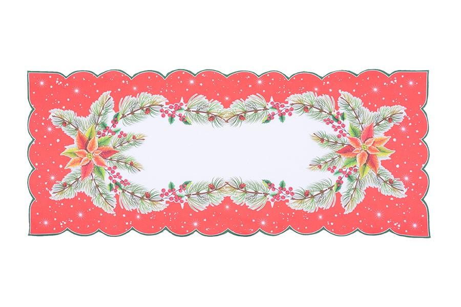 Karácsonyi terítő CSILLAG 2 38x85 cm