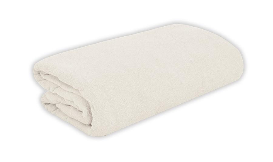 TOP Q frottír lepedő magasított matracra FEHÉR 90x200 cm