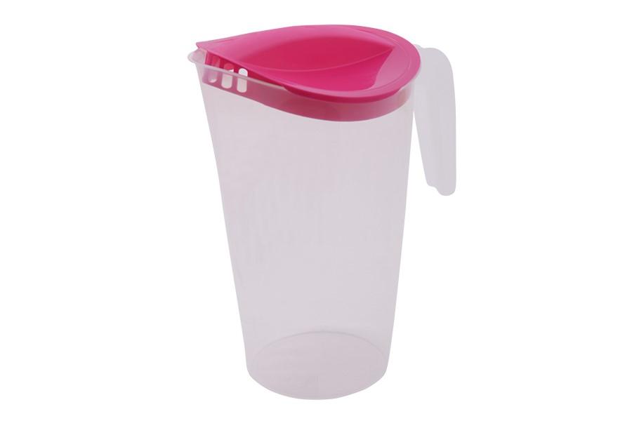 Műanyag kancsó 1,75 l rózsaszínű