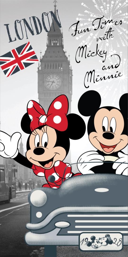Gyerek fürdőlepedő MICKEY & MINNIE LONDON