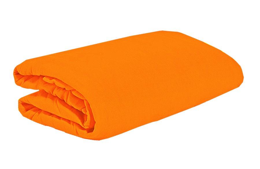 TOP Q jersey lepedő magasított matracra NARANCSSÁRGA 90x200 cm