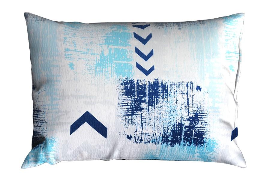 Krepp párnahuzat 70x90 cm RENFORCÉ SAGITA kék