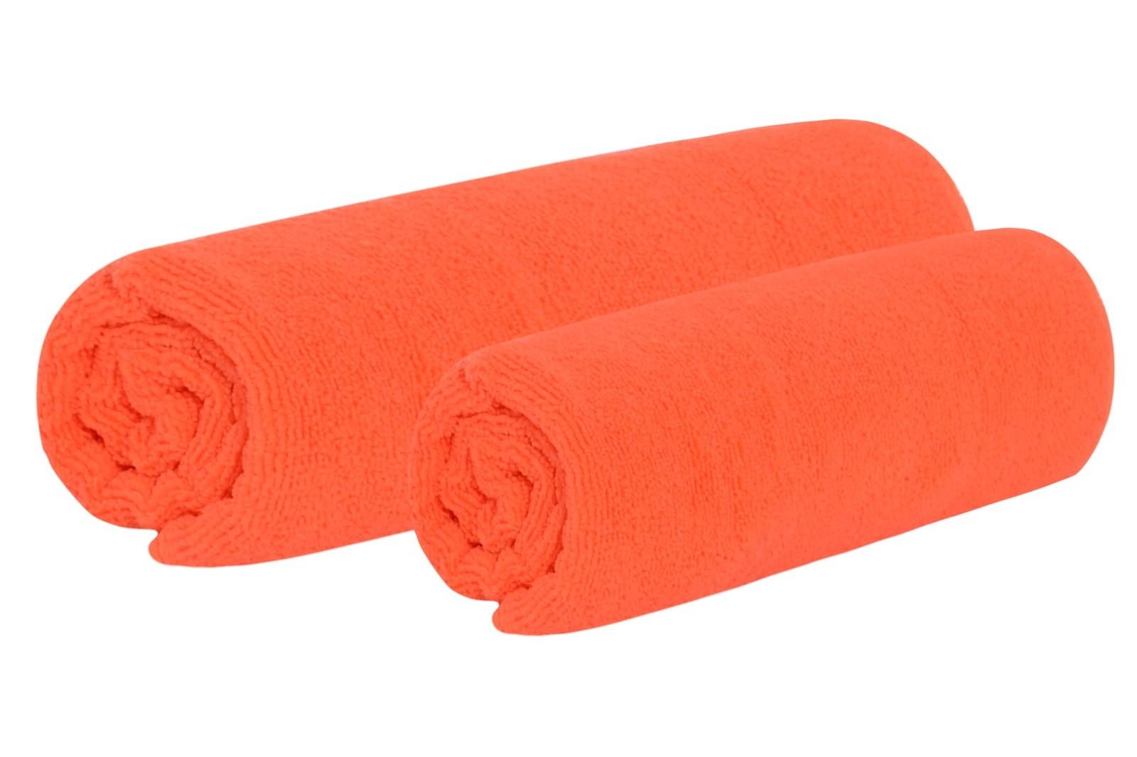 Törölköző és fürdőlepedő szett TOP narancssárga