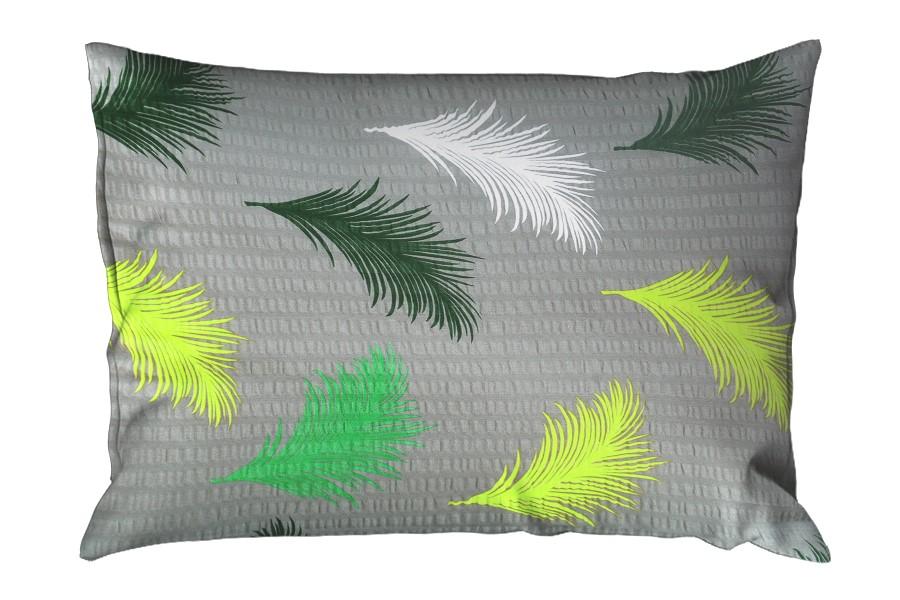 Krepp párnahuzat 70x90 cm ABERA zöld