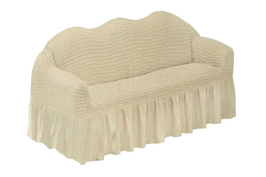 KORINA gumírozott huzat kanapéra bézs