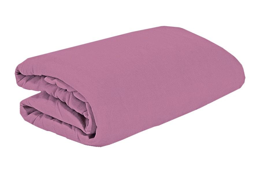 TOP Q jersey lepedő magasított matracra SZEDERLILA 180x200 cm
