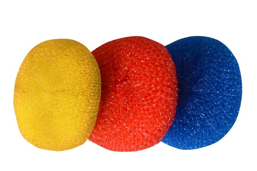 Drótkefék színes 3 drb