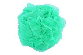Masszázs fürdőpamacs  DELUXE zöld