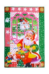 Karácsonyi törölköző TÉLAPÓ ÉS AZ AJÁNDÉKOK