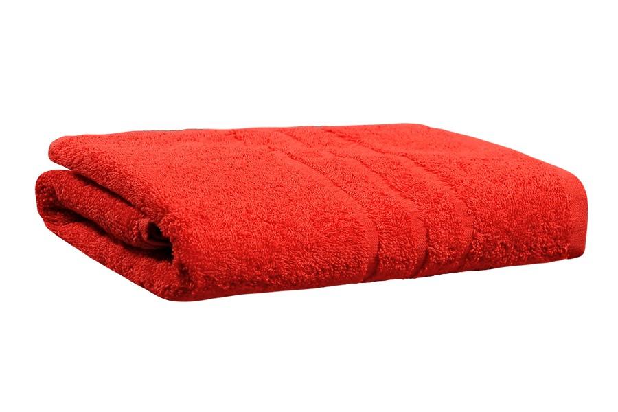 Fürdőlepedő KOMA piros