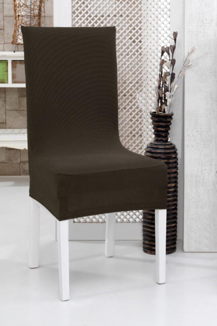 Gumírozott székhuzat 2 db barna
