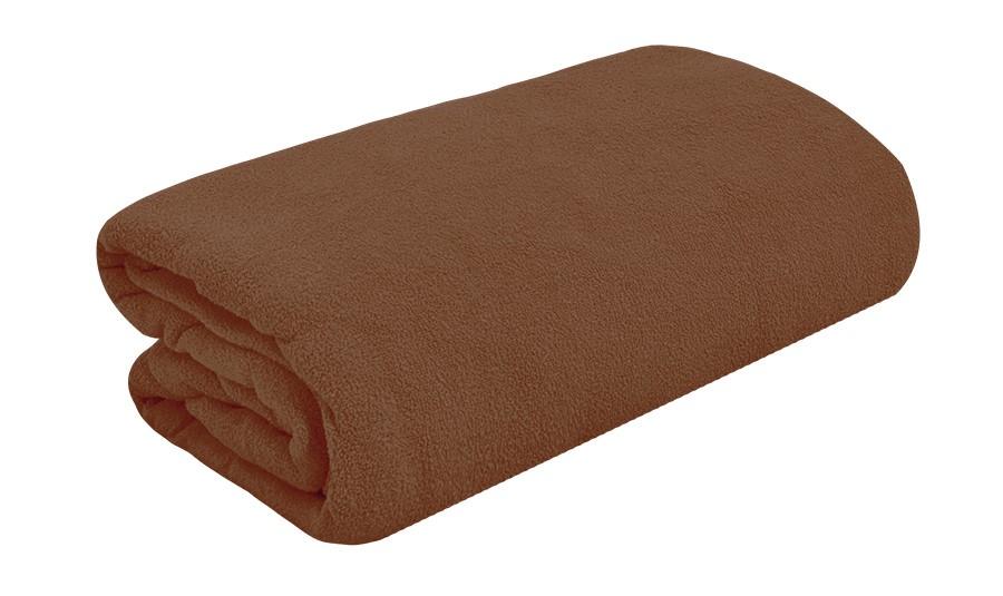 TOP Q frottír lepedő magasított matracra SÖTÖTBARNA 90x200 cm