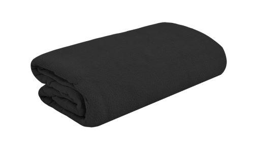 FEKETE frottír ágytakaró 90x200 cm