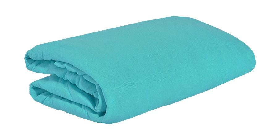 TOP Q jersey lepedő magasított matracra ÓCEÁNKÉK 2 90x200 cm
