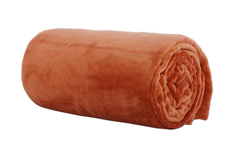 Mikro takaró 200x220 cm LUNA karamell