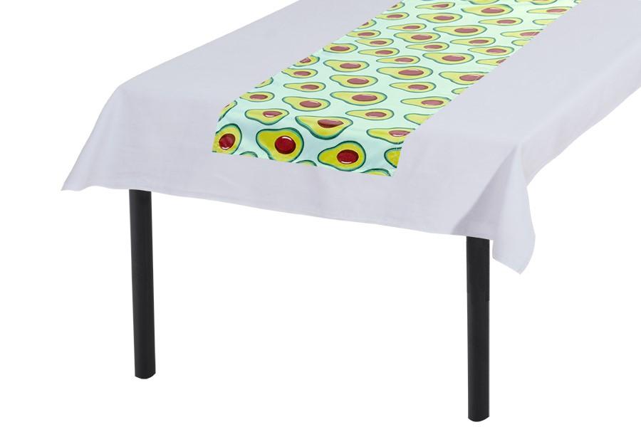 Asztali futó 30x140 cm AVOKÁDÓ