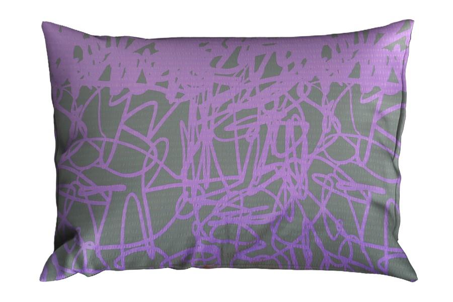 Krepp párnahuzat 70x90 cm DISELA lila