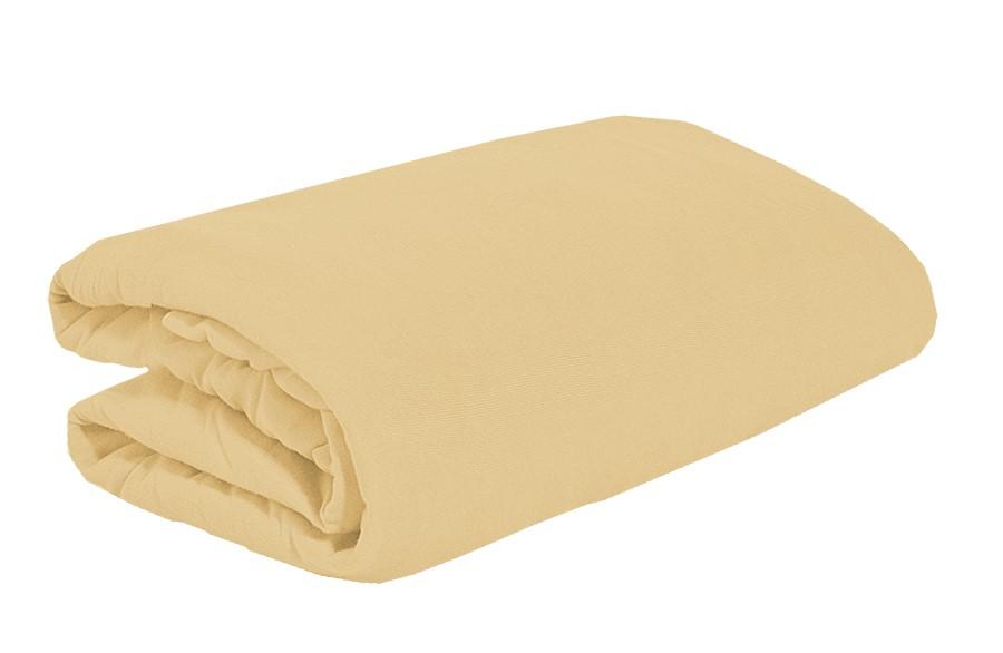 TOP Q jersey lepedő magasított matracra BÉZS 2 180x200 cm