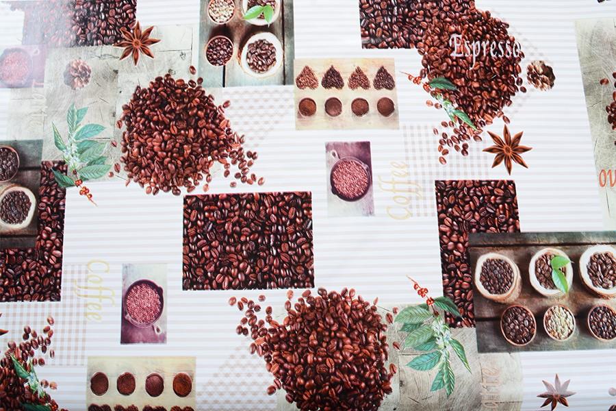 PVC terítő COFFEE 140x160 cm