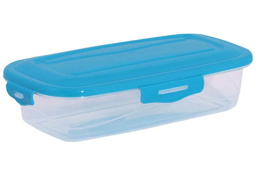Műanyag tárolóedény RUBY 2,8 l kék